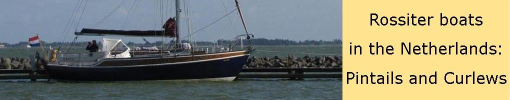 Rossiter boten in Nederland